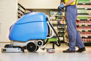 čištění podlah moderními stroji