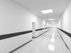čištění podlah v nemocnicích