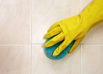 Nitra podlahy, čistenie